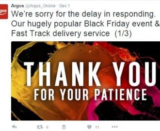 Black Friday - Argos 1