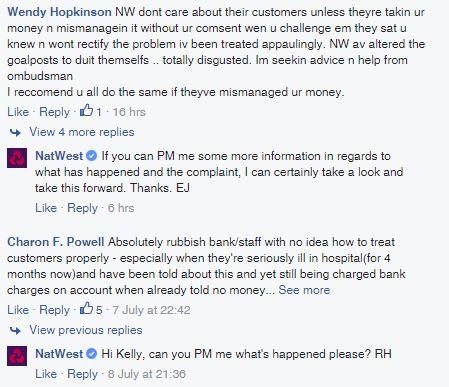 20160710 NatWest Facebook complaints 1