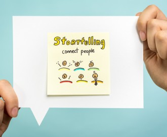 Storytelling with emoticons